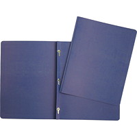 Hilroy 3-Prong Report Cover, Dark Blue, Letter Size