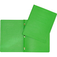 Hilroy 3-Prong Report Cover, Green, Letter Size