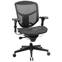 WorkPro PRO Quantum 9000 Series Ergonomic Mesh Mid-Back Chair