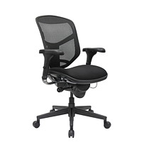 WorkPro PRO Quantum 9000 Series Ergonomic Mesh Mid-Back Synchro-Tilt Chair