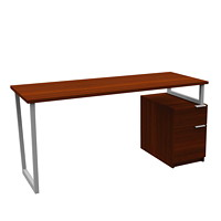 Star Quality WorkScape Desk and Pedestal