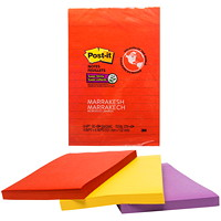 Post-it Super Sticky Notes in Marrakesh Colour Collection