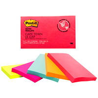 Post-it Original Notes in Cape Town Colour Collection