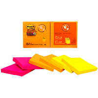 Post-it Super Sticky Pop-Up Notes, Unlined, Rio De Janeiro Collection, 3