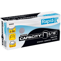 Rapid High-Capacity Staples, 5/16