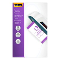 Fellowes Legal-Size Thermal Laminating Pouches, 50/Pk