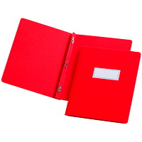 Oxford Report Covers with Embossed Border & Panel