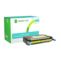 Grand & Toy Remanufactured HP 643A Yellow Standard Yield Toner Cartridge (Q5952A)