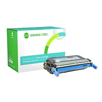 Grand & Toy Remanufactured HP 643A Cyan Standard Yield Toner Cartridge (Q5951A)