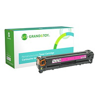Grand & Toy Remanufactured HP 125A Magenta Standard Yield Toner Cartridge (CB543A)
