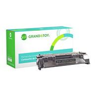 Grand & Toy Remanufactured HP 80A Black Standard Yield Toner Cartridge (CF280A)
