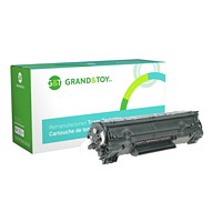 Grand & Toy Remanufactured HP 36A Black Standard Yield Toner Cartridge (CB436A)