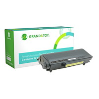Grand & Toy Remanufactured Brother Black High Yield Toner Cartridge (TN580)