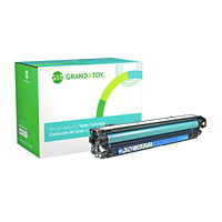 Grand & Toy Remanufactured HP 650A Cyan Standard Yield Toner Cartridge (CE271A)