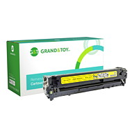 Grand & Toy Remanufactured HP 128A Yellow Standard Yield Toner Cartridge (CE322A)