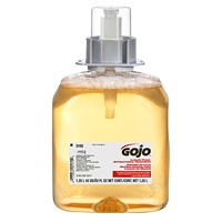 Gojo FMX Antibacterial Foam Hand Soap Refills with Chloroxylenol Liquid, Fruit Scent, 1,250 mL