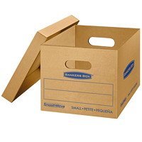 Bankers Box SmoothMove Classic Storage Boxes, Small
