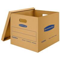 Bankers Box SmoothMove Classic Storage Boxes, Medium