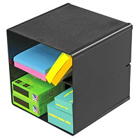 Deflecto Stackable Storage Cube