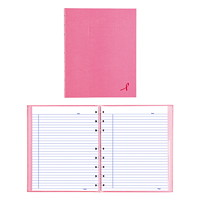 Blueline Pink Ribbon Collection NotePro Notebook, Pink