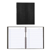 Blueline NotePro Coiled Notebook, 200 Pages, Black, 10 3/4