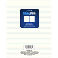 Filofax Notebook Lined Refill Paper, Cream, 8 1/2