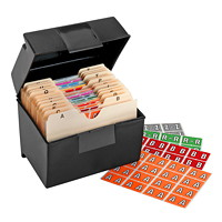 Ensemble de départ d'étiquettes alphabétiques à codage couleur Pendaflex