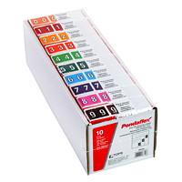 Ensemble de départ d'étiquettes numériques à codage couleur Pendaflex