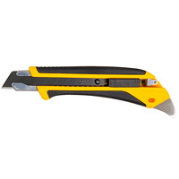 OLFA Heavy-Duty Rubber Grip Reinforced Utility Knife