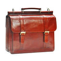 Mancini Signature Collection Laptop and Tablet Briefcase