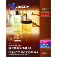 Avery Print-to-the-Edge Permanent Labels