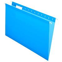 Dossiers suspendus renforcés de haute qualité Pendaflex, bleu, format légal, boîte de 25