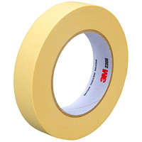 3M Performance Masking Tape (2308), Tan, 24 mm x 55 m