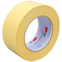 3M Performance Masking Tape (2308), Tan, 48 mm x 55 m