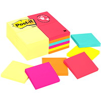 Post-it Original Notes Value Pack in Cape Town Colour Collection