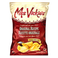 Miss Vickie's Potato Chips, Original, 40 g, 40/CT