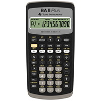 Calculatrice financière à 10 chiffres BA II Plus Texas Instruments