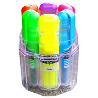 Pentel Data Checker Highlighters