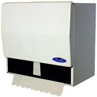 Distributeur d'essuie-mains en rouleau et à pli simple Frost