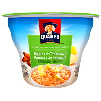 Quaker Instant Oatmeal, Apples & Cinnamon, 43 g, 12/CT