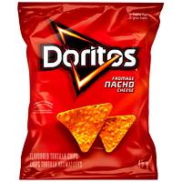 Doritos Tortilla Chips, Nacho Cheese, 45 g, 48/CT