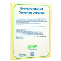 Couverture d'urgence très visible en tissu/poly SAFECROSS