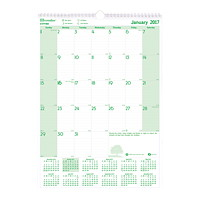 EcoLogix 100% Recycled Monthly Wall Calendar