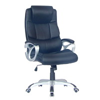 TygerClaw Executive High-Back Office Chair with Integrated Headrest