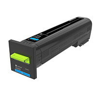 Lexmark CX820 Cyan High Yield Toner Cartridge (82K0H20)