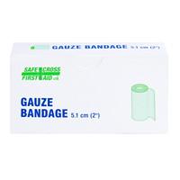 SAFECROSS Gauze Bandage Rolls, 2