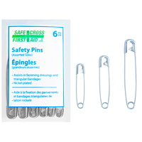 SAFECROSS Safety Pins