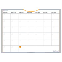 At-A-Glance WallMates Self-Adhesive Dry-Erase Undated 1-Month Wall Calendar, 24