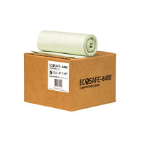 Sacs compostables certifiés EcoSafe