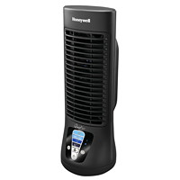 Honeywell QuietSet Table Tower Oscillating Fan, Black